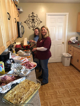 Thanksgiving 2018 at Gins / Stephs