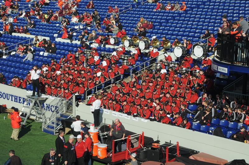 UC Band_UC vs Virginia Tech_Military Bowl_Anapolis, MD_12-27-2014