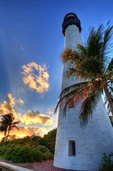 Key Biscayne Light House, Looking West