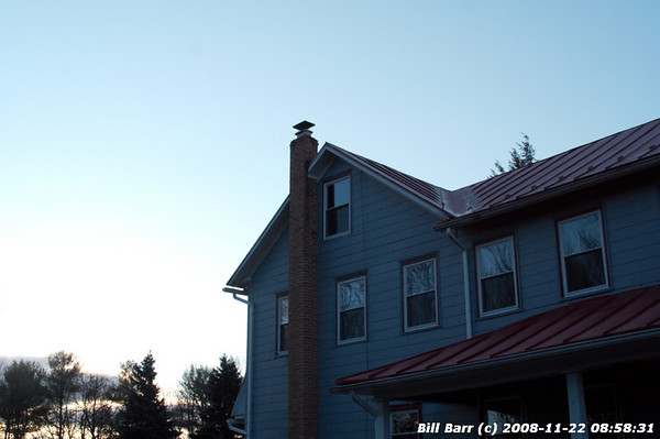 Chimney Fire, Foster Twp, Sandy Valley 11/22/08