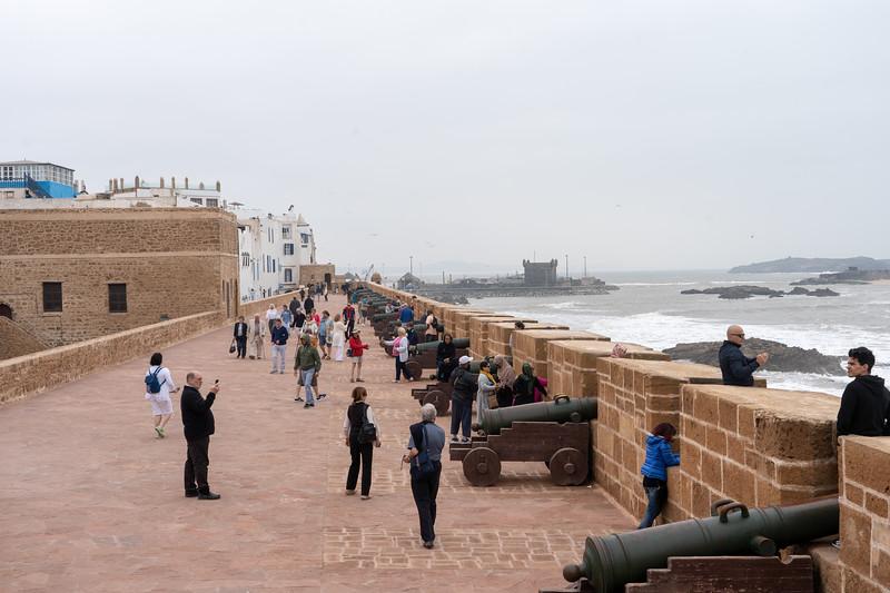 Ramparts in Essaouira, Morocco