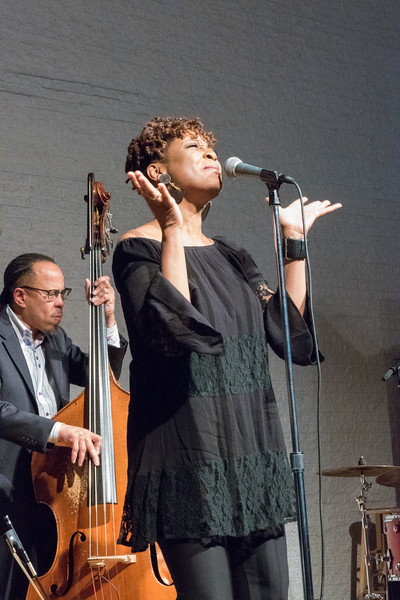 Vocalist Lori Williams at Westminster Church