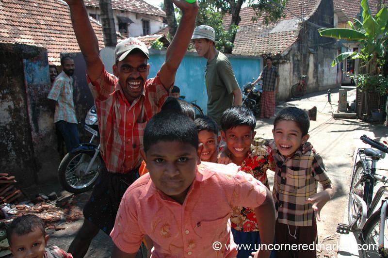 Cricket Excitement - Kochi, India