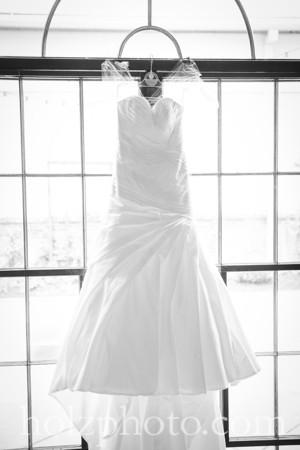 Paige & Andrew B/W Wedding Photos