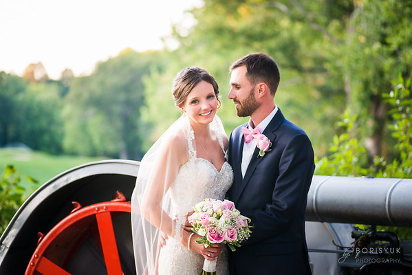 Blissful Meadows Golf Club Wedding: Abby & Ben