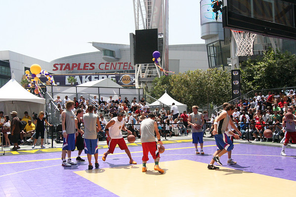 Lakers 3 on 3 Nike Center Court Events