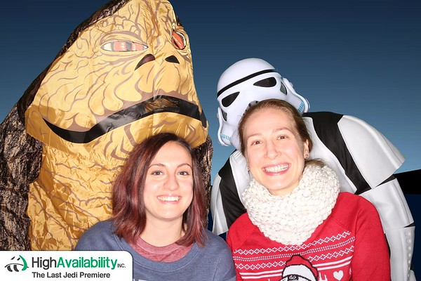 High Availability, Inc. - Star Wars: The Last Jedi Premiere