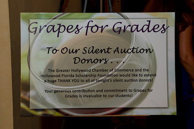 September 23rd, 2011 9th Annual Grapes for Grades