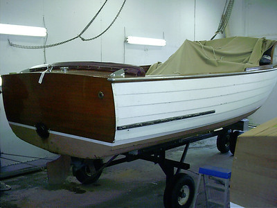 Cris Craft Skiff.