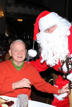 Hundred Club of Massachusetts 2014 Christmas Party with Santa Claus