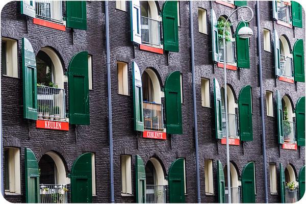 Amsterdam Through Doors and Windows