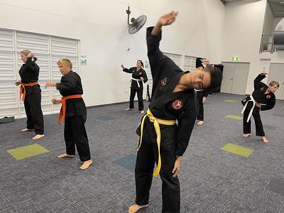 Combat Self Defence Noosa Grade Belt Assessments June 21