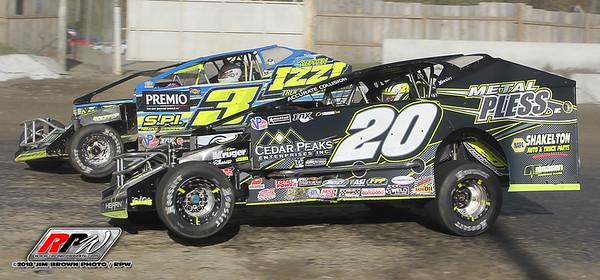 Orange County Fair Speedway - Eastern States - 10/21/18 - Jim Brown