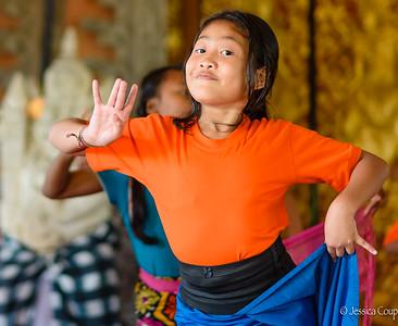 Dance Practice, Ubud, Bali