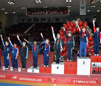 SURGENT'S ELITE GYMNASTICS at TEMPLE UNIVERSITY - PBG - PHILADELPHIA,PA 2-14-2013