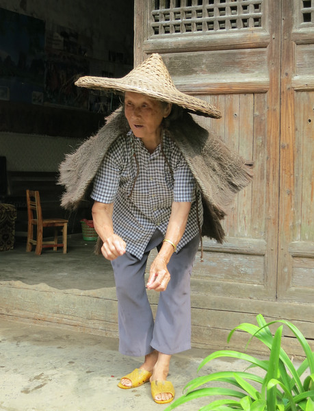 Visiting a old chinese family - Yangshuo, China