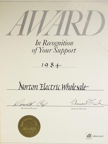 1984, Distributor Award