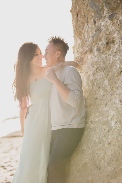Linda & Wilson | Victoria Beach E-Session