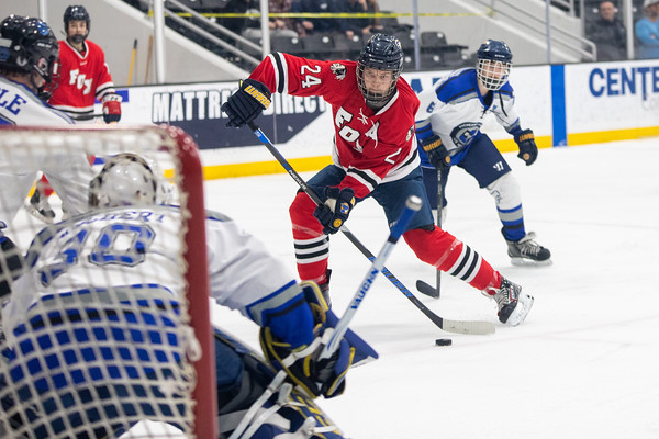 Ice Hockey: Duchesne vs Fox