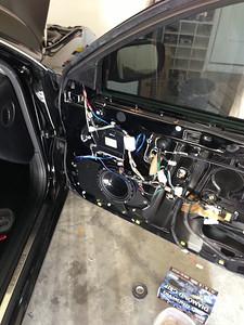 2001 Lexus GS 300 Front Speaker Installation - USA