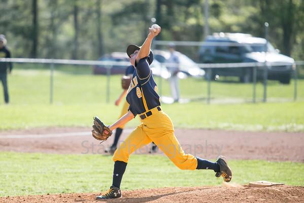 Hampton Vs Cloudland Baseball 04-21-15