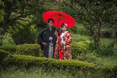 JAPAN, Shogun Garden in Tokyo 2013.