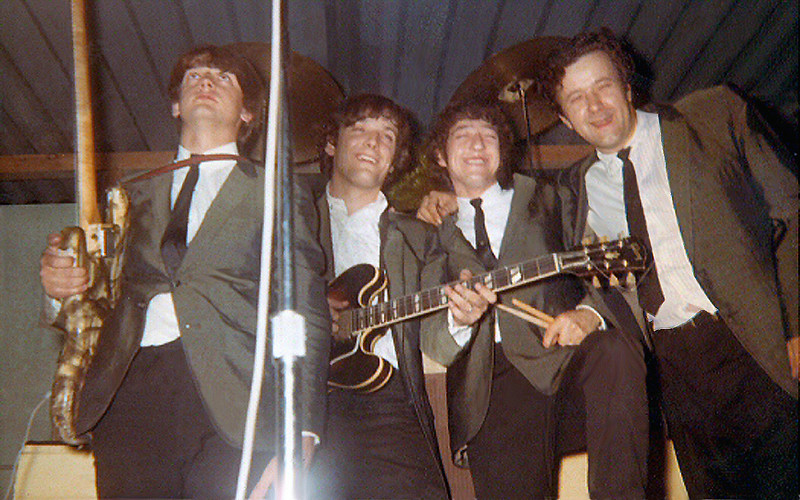 . Dick Wagner\'s first band was the Bossmen, 1965.