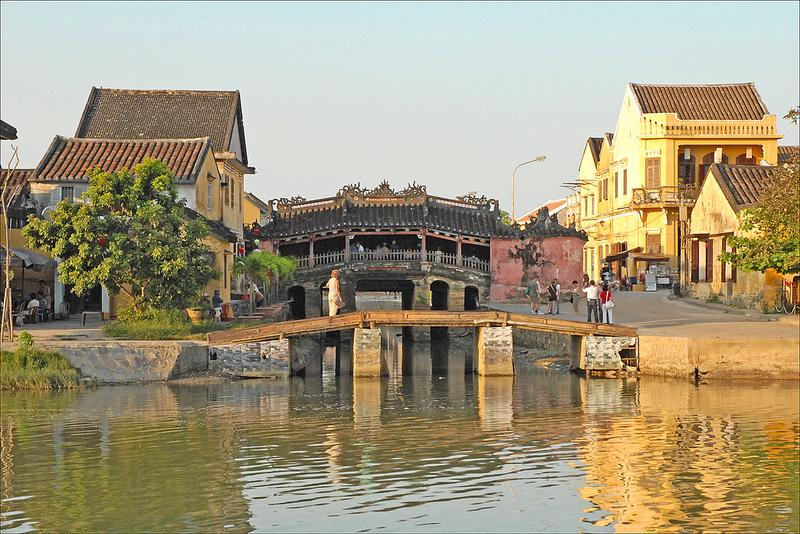 Le pont-pagode japonais à Hoi An