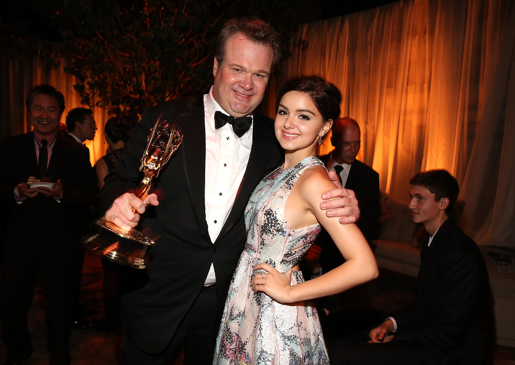 . Actors Eric Stonestreet and Sarah Hyland attend the FOX Broadcasting Company, Twentieth Century FOX Television and FX 2012 Post Emmy party at Soleto on September 23, 2012 in Los Angeles, California.  (Photo by Christopher Polk/Getty Images for FOX)
