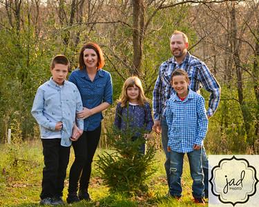 Olson Family 2018