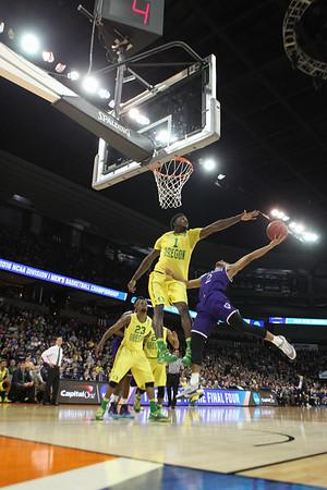Oregon vs. Holy Cross 2016 NCAA Tournament
