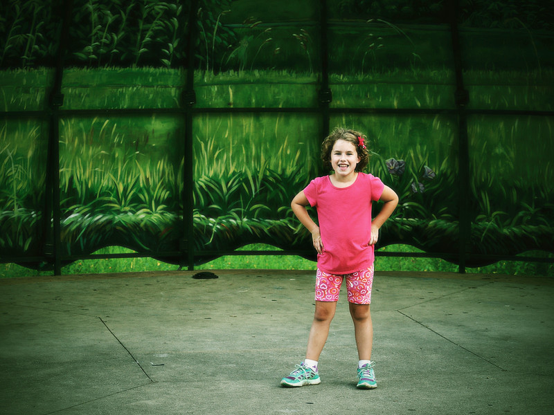Lilly the Star at Frontier Park