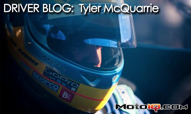 Driver Blog: Tyler McQuarrie