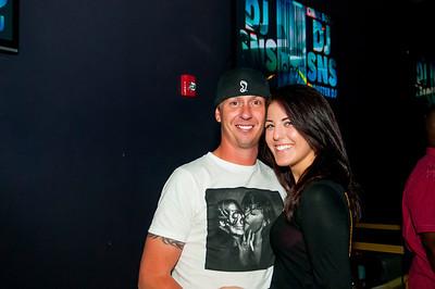 B.O.B. w/DJ SNS @ Label Charlotte  9-22-13 by Jon Strayhorn