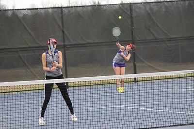 Center High varsity Rider tennis team finished 4th out of 23 teams at Longview Invitational