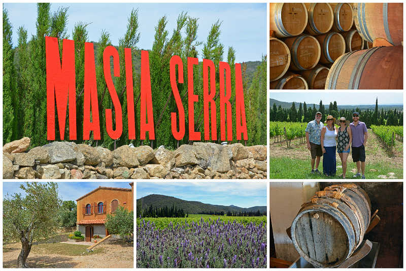 Masia Serra Winery in Costa Brava