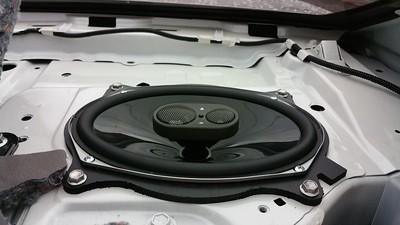 2014.15 Toyota Camry SE Rear Deck Speaker Installation - USA