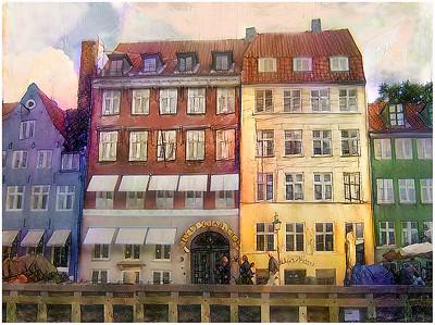 Copenhagen Nyhavn Fantasy