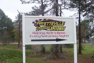 Fayetteville Motor Speedway April 6, 2008