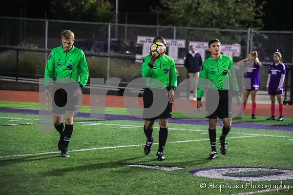 2018-10-11 Issaquah Girls Soccer vs Eastlake