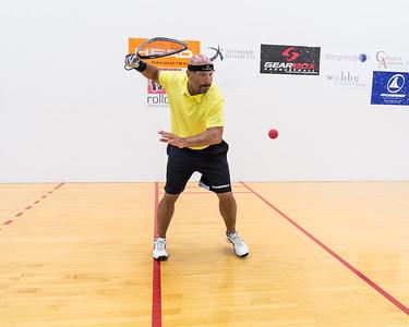 Men's Singles Elite Final Michael Cabrera over Douglas Reese