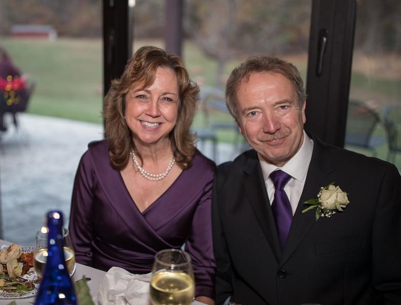 Bride and Groom at Dinner table.jpg
