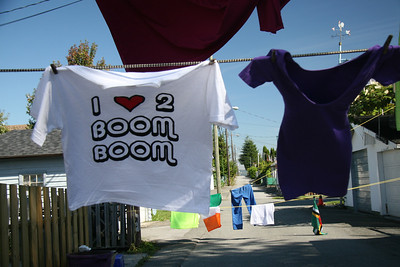 The Boom Booms (When the Night)