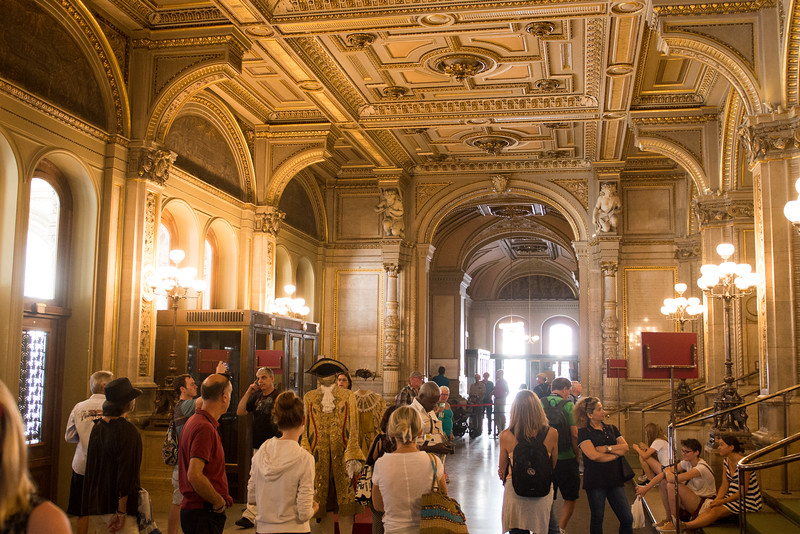 entry hall at the opera house