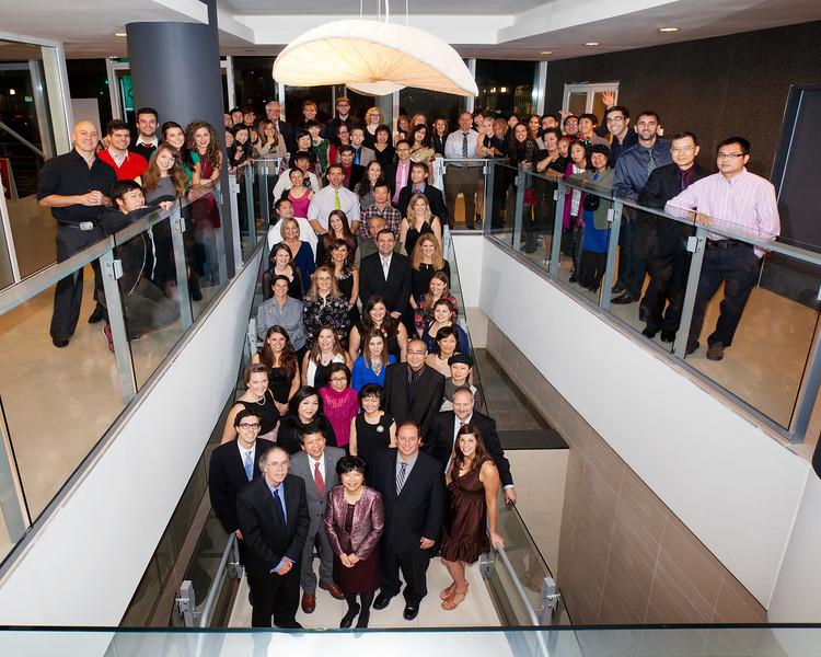Bodwell Staff Group Photo - 2013
