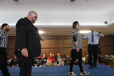 Northeast Championship Wrestling Collision Course February 17, 2017 (MAIN EVENT) Scott Levesque with Rich Bass vs. Christian Cassanova