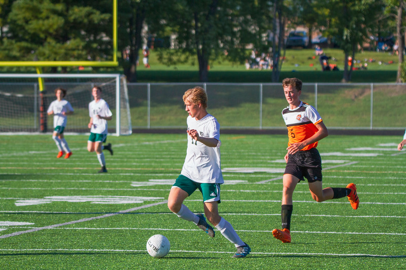Holy Family Varsity Soccer vs. Delano, 9/19/19: Bishop Schugel '21 (11)