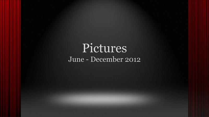 June - December 2012