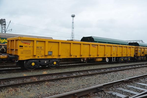 IEA (Ealnos) - Open Bogie Ballast Box Wagon