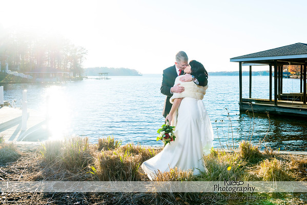 Jami & Joe Novak - November 28th 2014 - Lake Gaston Wedding